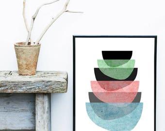 Scandinavian Design, Wall Prints, Contemporary Art, Abstract Art Print, Modern Wall Art, Giclee print, Poster, Home Decor, Wall Decor