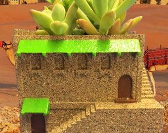 Mini Middle Eastern Villa Planter