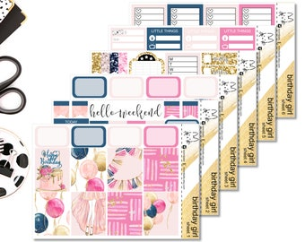 Birthday Girl II Perfect For The Erin Condren Life Planner II