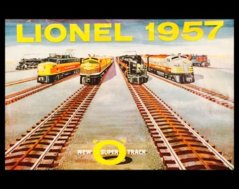 Catalogue:  Lionel Trains 1957