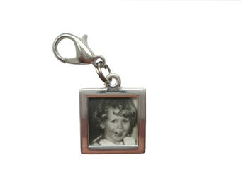 Picture frame pendant of charms charm bracelet Exchange trailer