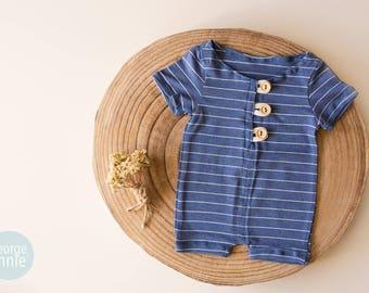 Romper  - Baby Boy - Newborn - Photography Prop