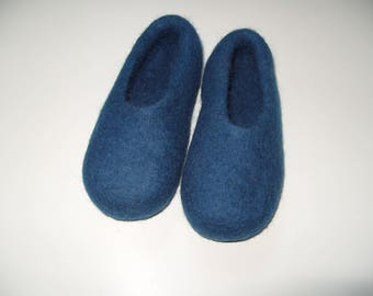 Ready to ship - Felted slippers, kid's slippers