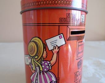 sharps toffee tin post box money box
