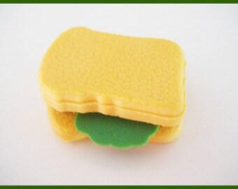 1 rubber silicone (sandwich) - back to school stationery school
