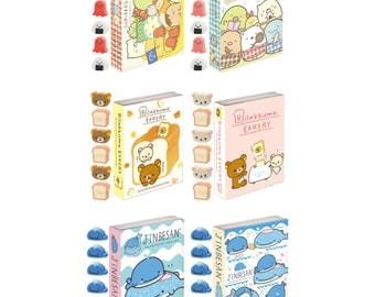 San-X Rilakkuma and Jinbeesan Mini Memo Pad