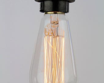 Portland Bill : Squirrel Cage Edison Light Bulb E27 5 Pack