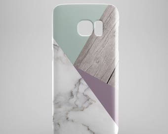 Marble wood phone case for Samsung Galaxy S8, Samsung Galaxy S8 Plus, Samsung galaxy note 8, Samsung galaxy note 5, phone covers, cases