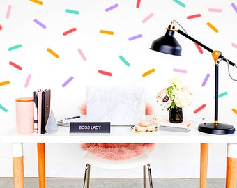 SPRINKLE Wall Decal   Life Is Better With Sprinkles Wall Decal   Wall Decal    Bedroom