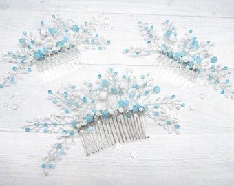 Gift|for|women Best friend gift Set|for|bridal Set|for|bridesmaid Blue wedding Set|for|her Blue|for|her Blue wedding set Something blue her