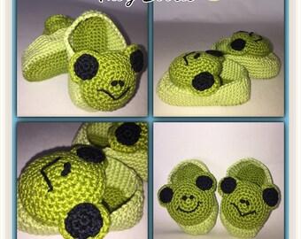 Crochet Baby Bootie - Cute Baby Bootie - Character Bootie - Knit Bootie