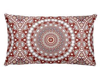 Lumbar Pillow Cover Christmas, 20x12 Rectangle Pillow, Holiday Decor Throw Pillows