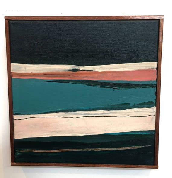 Original Framed Abstract Painting