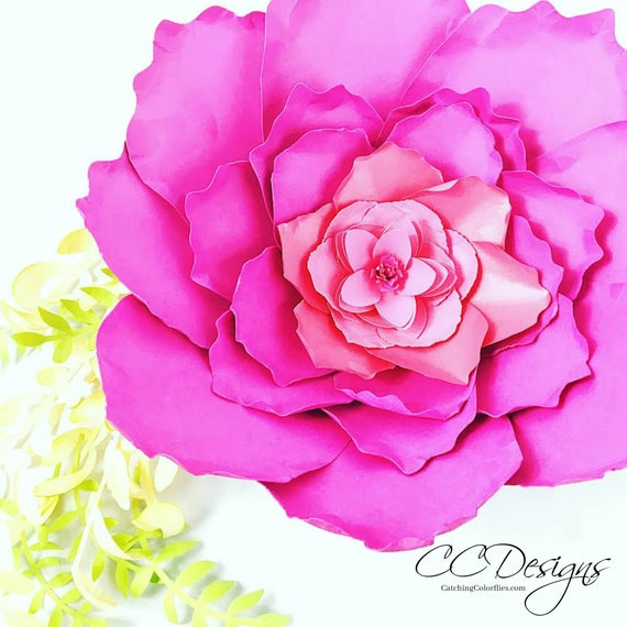 Giant paper peony templates tutorial paper flower patterns party il570xn mightylinksfo