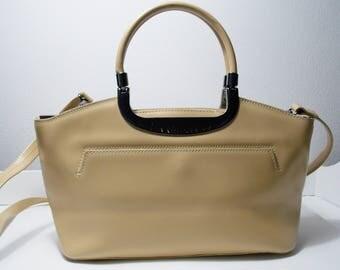 Vintage beige handbag C.Valentino
