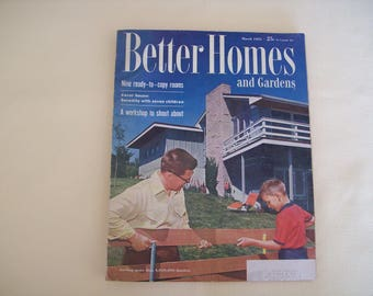 Better Home and Gardens Magazine March 1955