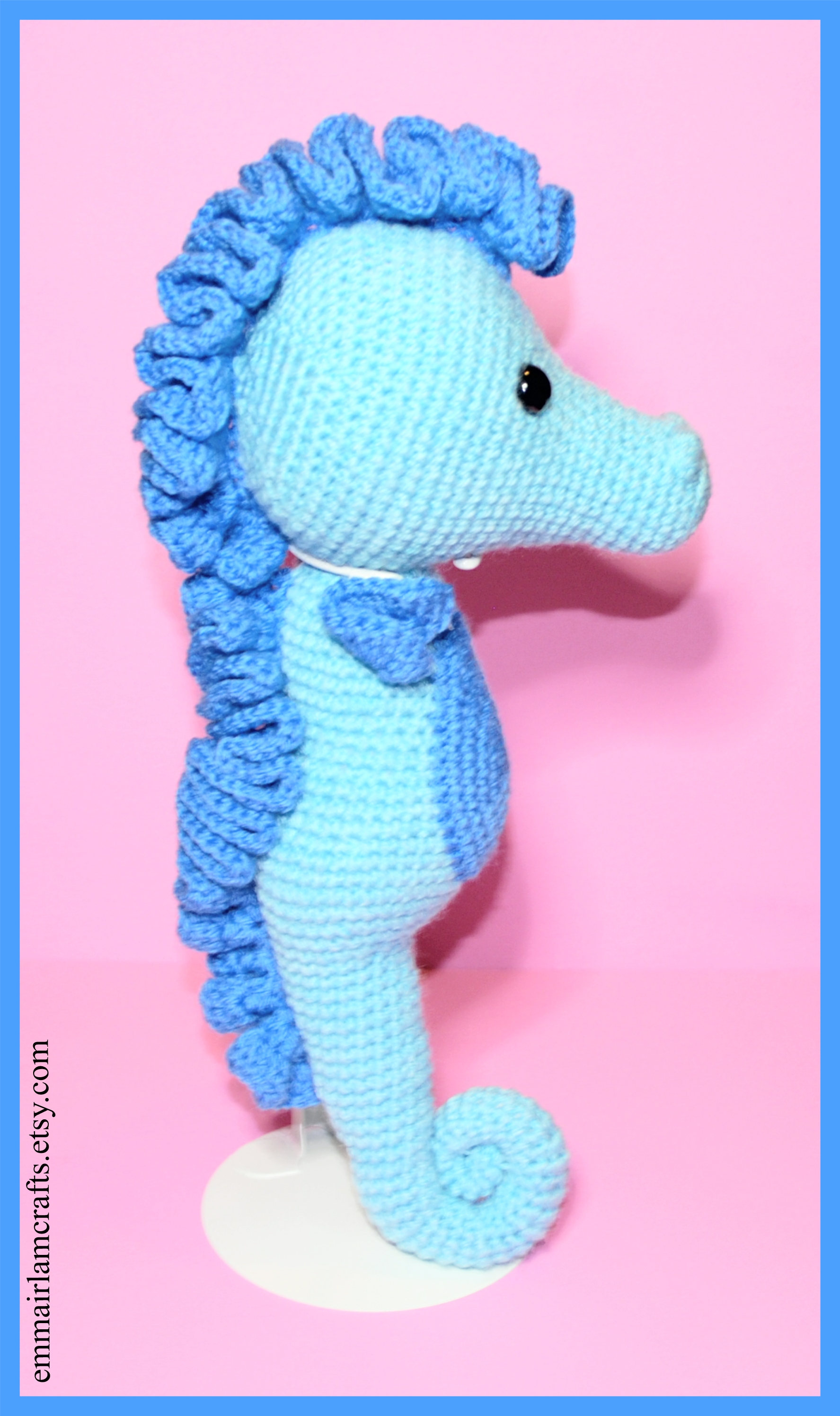Pdf seahorse crochet pattern seahorse amigurumi amigurumi this is a digital file bankloansurffo Image collections