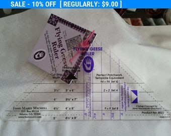 SALE! Flying Geese Ruler- by Marti Michell