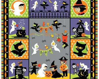 SALE** Halloween Panel - Costume Clubhouse-  by Sheri Berry Designs