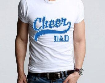 Cheer Dad / Apparel / Cheer DAD T-Shirt  /cheer dad shirt / cheerleading /  cheerleader / dad tshirt / tshirt / cheer dad gift T-shirt