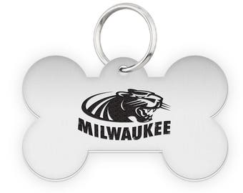 Wisconsin Milwaukee Panthers Dog Tags | Pet Tags | Cat Tags | Necklace | College Pet Tags