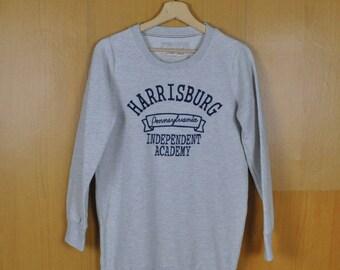 Vintage Sweatshirt Harrisburg Pennsylvania Independent Academy Sweatshirt Avail Jean Shirt