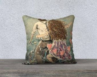 Summer Love: Fine Art Pillow