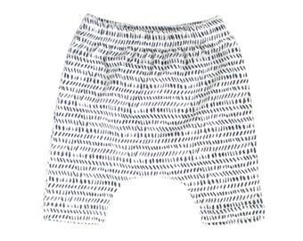 harem shorts, modern shorts, charcoal dash shorts, off white shorts, gender neutral shorts, hipster baby shorts