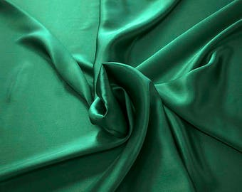 1712-082 - Crepe Satin silk 100%, width 135/140 cm, made in Italy, dry cleaning, weight 100 gr