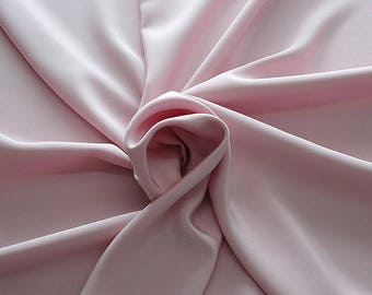 305128-Crepe marocaine Natural Silk 100%, width 130/140 cm, made in Italy, dry cleaning, weight 215 gr