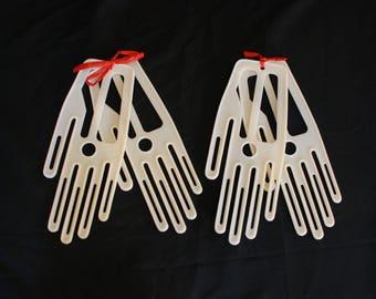 Pair of Plastic Glove Stretchers