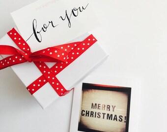 """Holiday/Christmas Greeting Card """"Merry Christmas"""""""