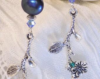 Water Blossom earrings