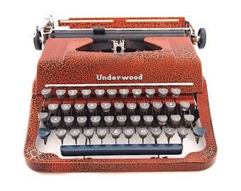 Custom made typewriter
