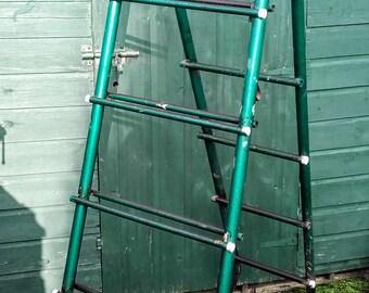 Vintage Industrial Chic Extending Ladder