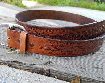 Handmade 1 1/2 in. Belt 100% USA Made