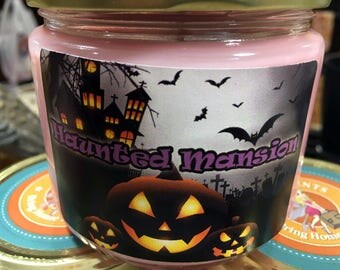 Haunted Candle - Inspired by Disney's Haunted Mansion - 12 oz