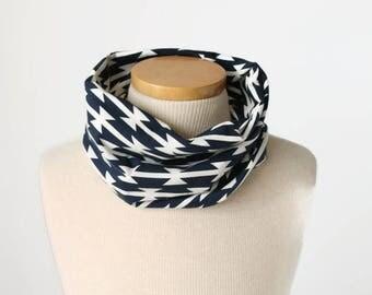 Tomahawk Tube Scarf - Cowl Scarf - Infinity Scarf  - Infinity scarf - jersey knit - Fall Baby Scarf - kid prints - Neck warmer
