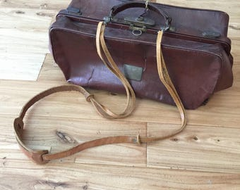 Antique German Doctor Bag 1930