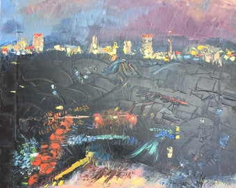 Timonium Night Painting