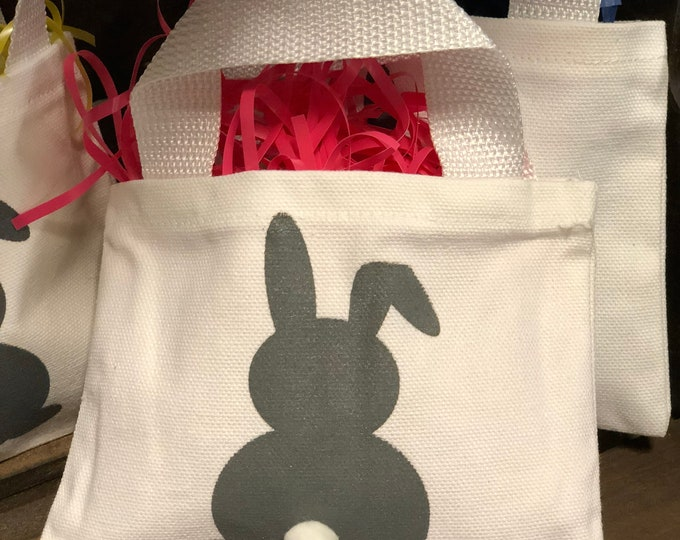Featured listing image: Easter bunny tiny tote.