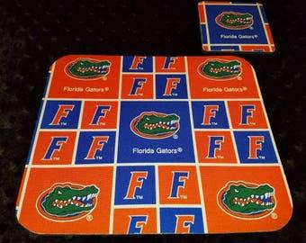 Florida Gators Mouse Pad and Coaster Set