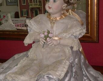 Porcelain Doll (dressed as Fallera)