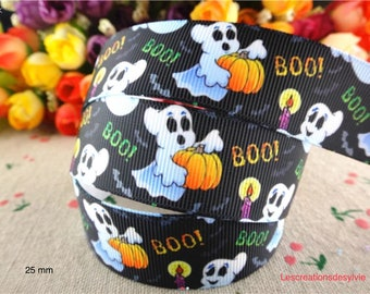 22 mm the meter Halloween grosgrain Ribbon.