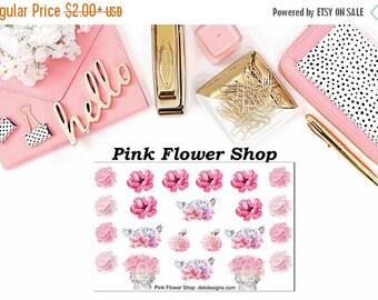 40% Off Sale Pink Flower Shop//EC//Hp classic, large mini