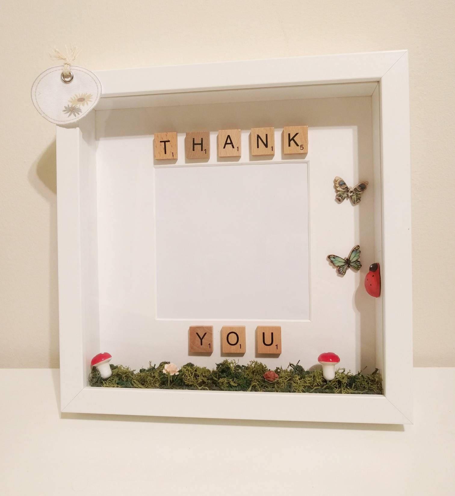 woodland fairy garden wonderland personalised box frame photo