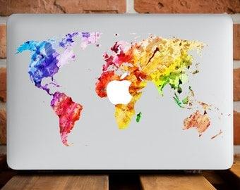 Marble Map Cover Macbook Air Hard Case Macbook Pro 15 Cover Macbook 12 Hard Case Macbook 12 Inch Hard Laptop Case Macbook Pro 13 Case WCm077