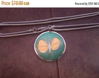 ON SALE Vintage Necklace with Gervais Pendant
