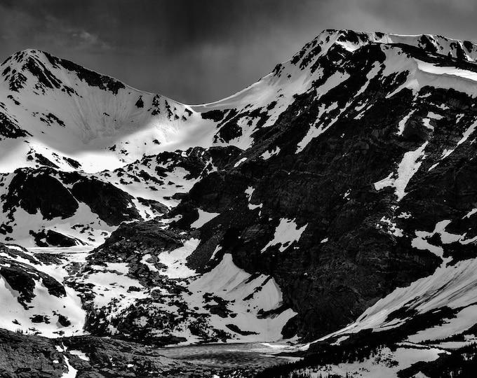 Rocky Mountains Frozen Lakes in Estes Park