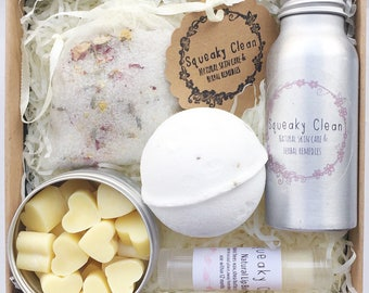 Bath Gift Set, Pampering Gift Set, Gifts for Her, Spa Gift Set, Bath Set, Wife Gift, Thankyou Gift, Gift for Women, Mother's Day Gift